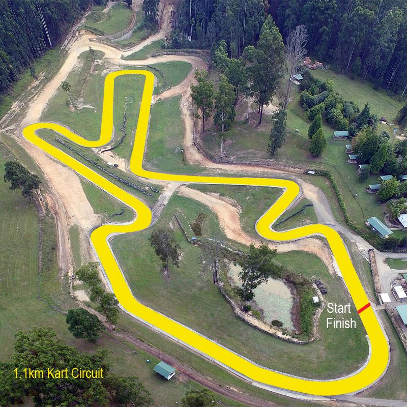 Raleigh International Raceway Hire Karts